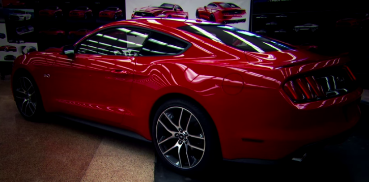 2015 ford mustang documentary