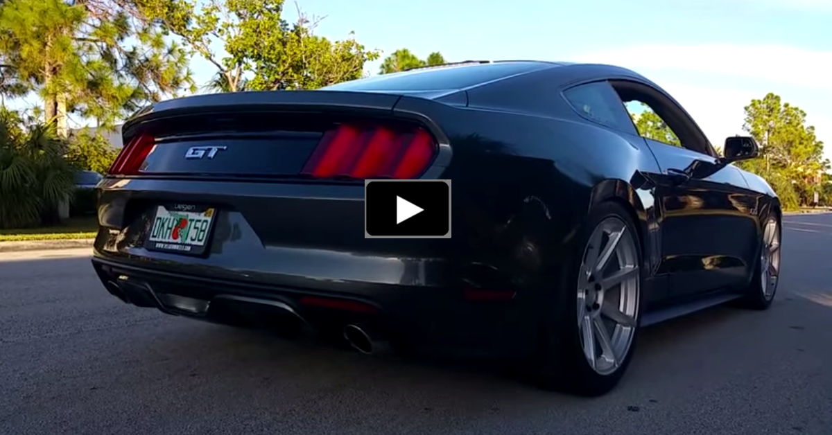 2015 ford mustang gt borla exhaust
