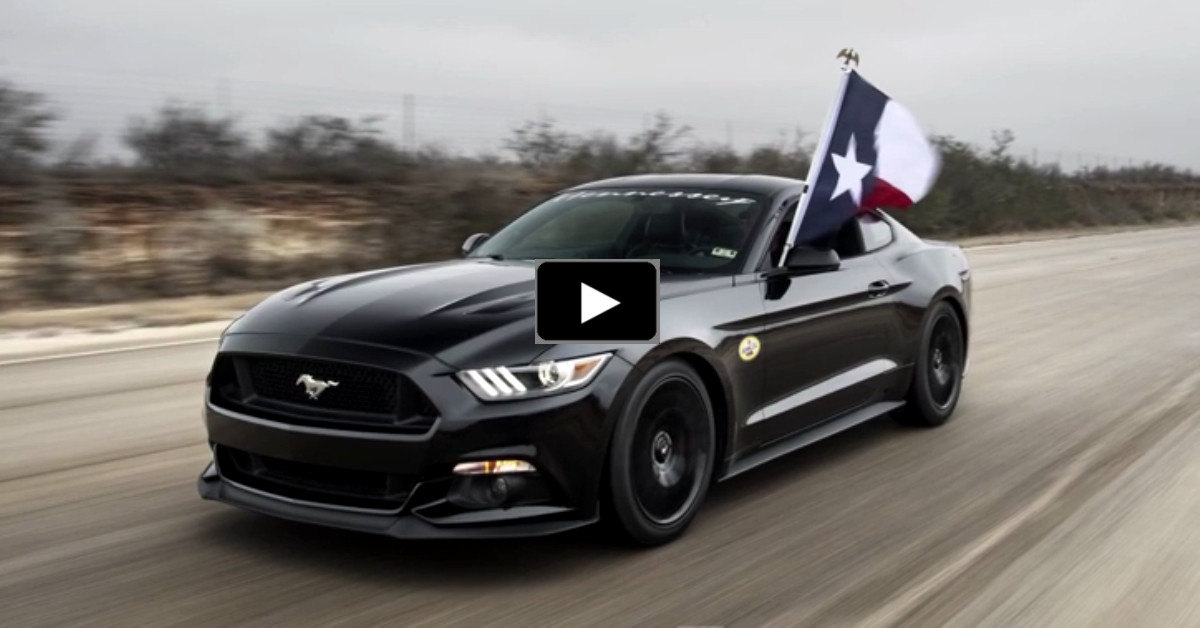 2015 ford mustang hennessey 195mph