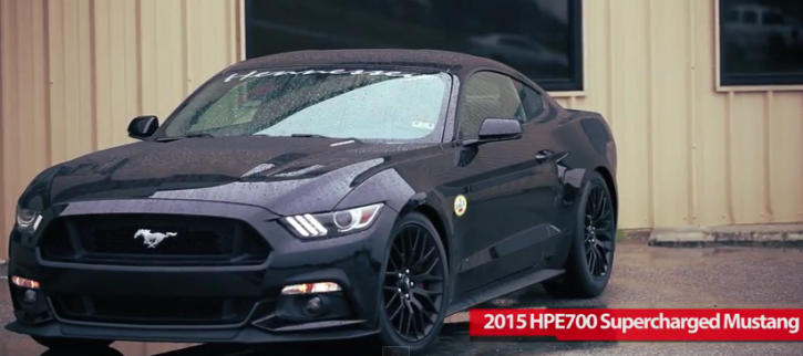 2015 ford mustang hpe700 195mph