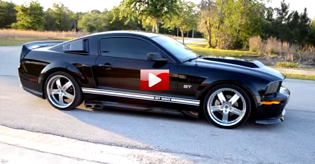 ford mustang eleanor cervini burnouts