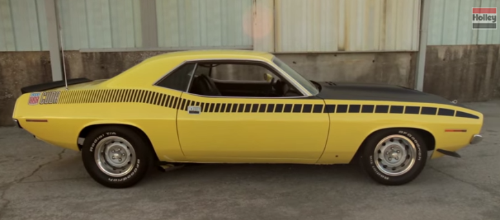 lemon twist 1970 plymouth aar cuda tribute car