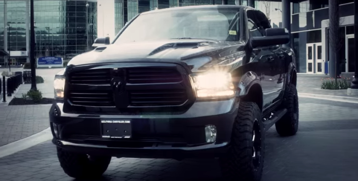 lifted 2014 dodge ram 1500 truck the reaper