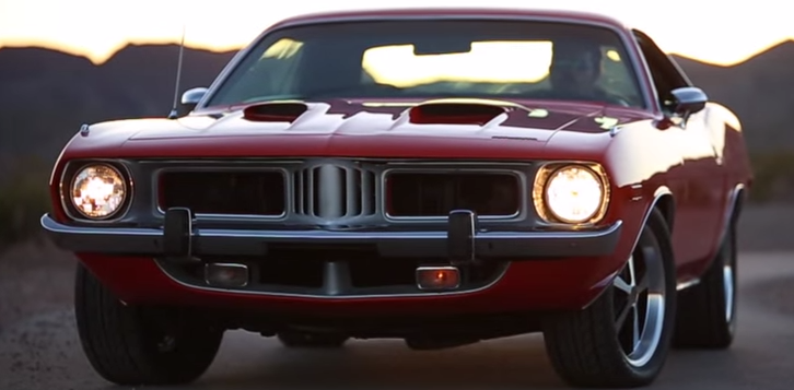 numbers matching 1973 plymourh cuda 340 v8 road test