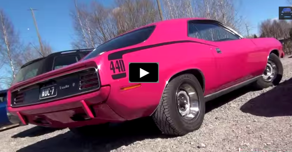 Old Muscle Cars For Sale >> PANTHER PINK 1970 PLYMOUTH CUDA 440 MUSCLE CAR | HOT CARS