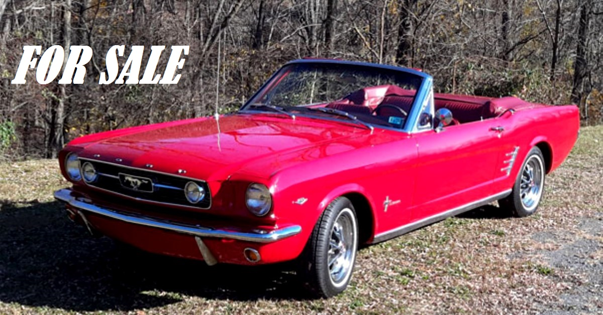 restored 1966 ford mustang convertible 289 4 speed for sale