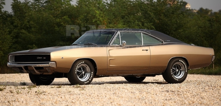 restored 1968 dodge charger rpm styling