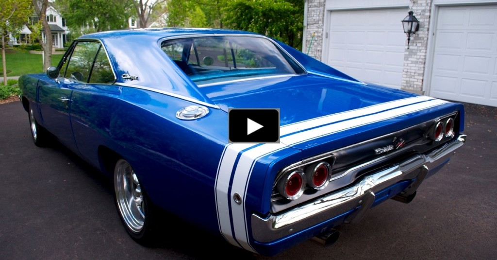 Nicely Restored 1968 Dodge Charger R T Muscle Car Hot Cars