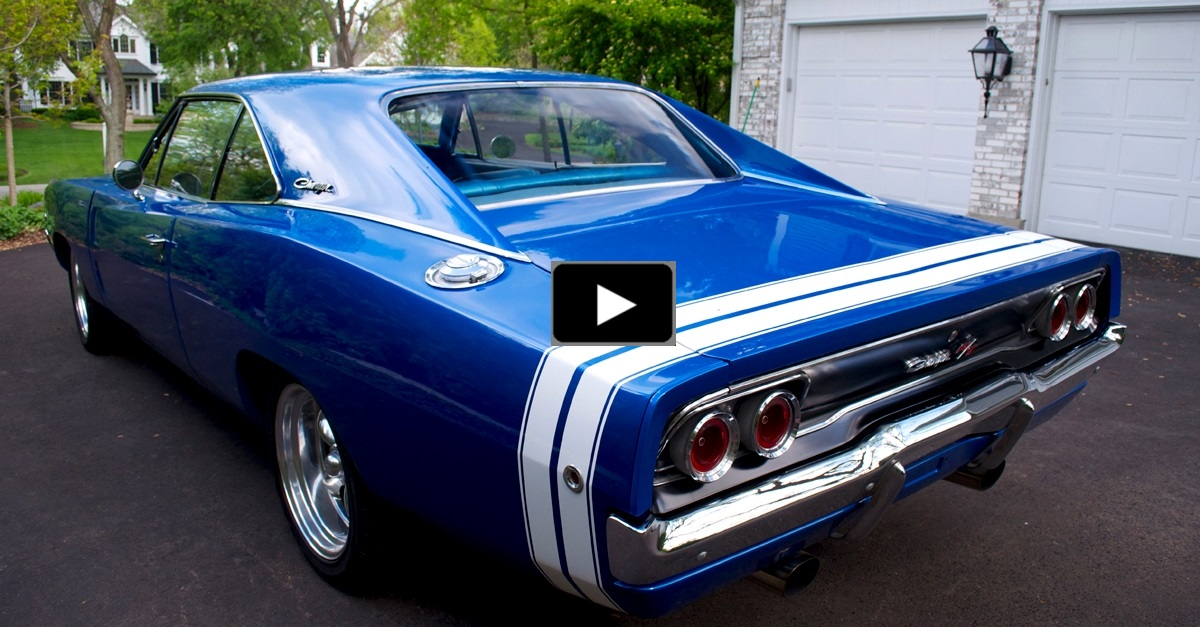 NICELY RESTORED 1968 DODGE CHARGER R/T MUSCLE CAR | HOT CARS