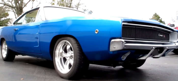 restored 1968 dodge charger rt