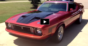 restored 1973 ford mustang mach1 351