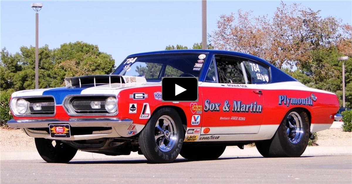 story of sox & martin 1968 hemi barracuda