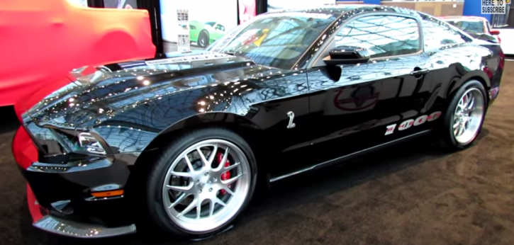 the monstrous ford mustang shelby 1000 muscle car hot cars. Black Bedroom Furniture Sets. Home Design Ideas