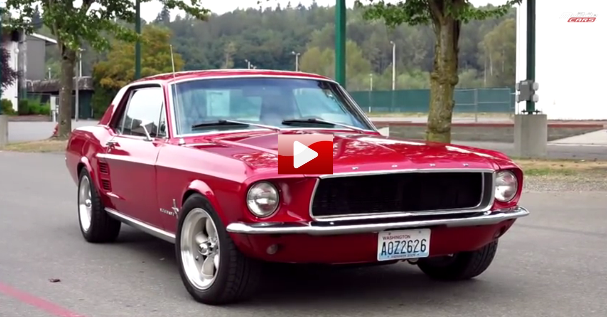test driving 1967 ford mustang coupe