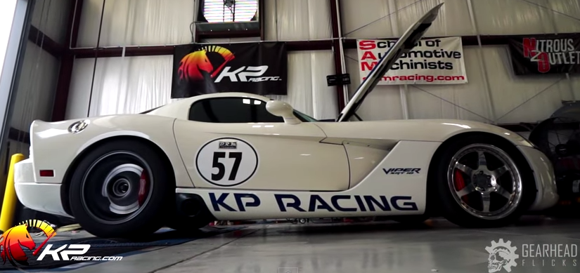 twin turbo dodge viper by kp racing