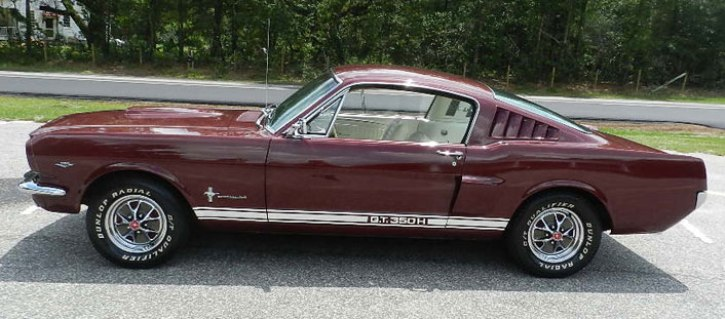 1965 FORD MUSTANG FASTBACK C-CODE 289 FOR SALE | HOT CARS