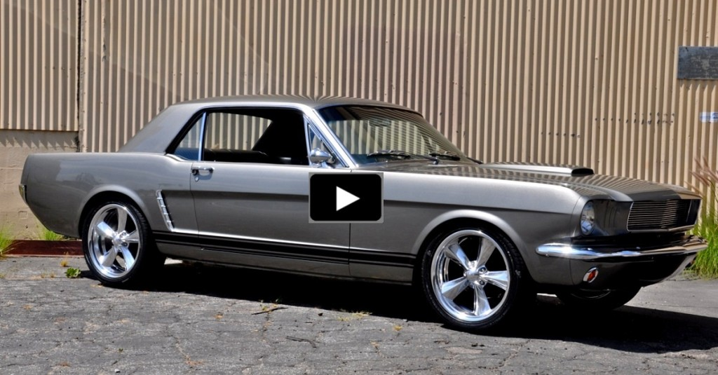 65 Mustang Pro Touring >> KILLER 1965 FORD MUSTANG COUPE RESTO-MOD | HOT CARS