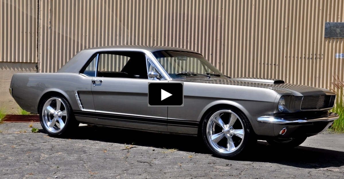 1965 ford mustang coupe resto-mod