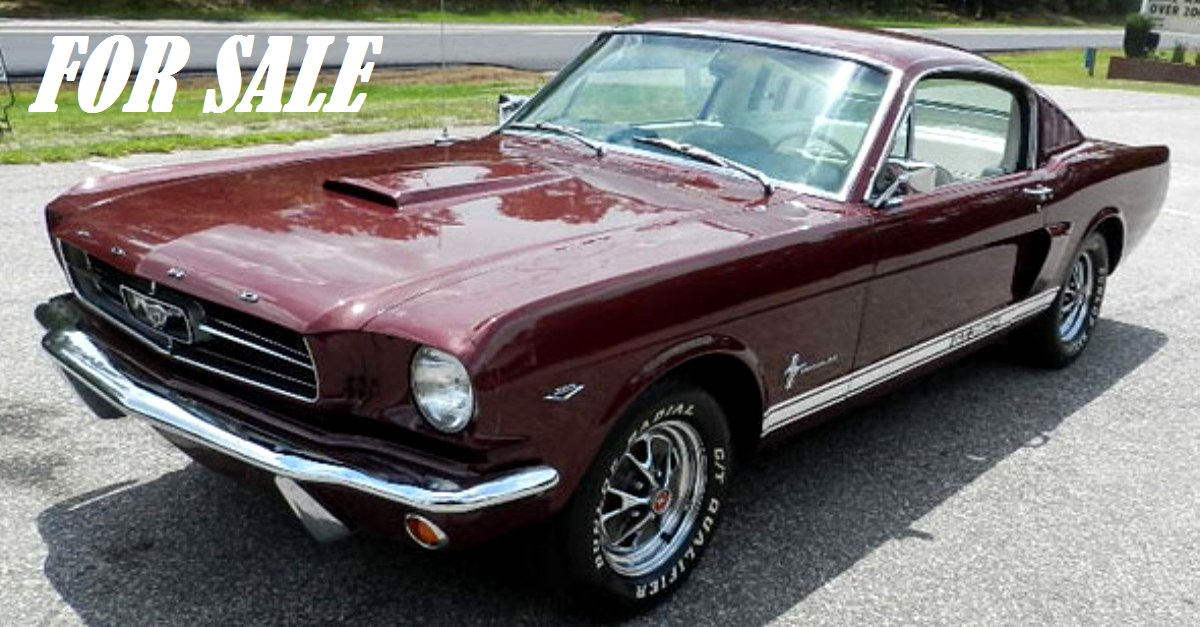 1965 ford mustang fastback for sale