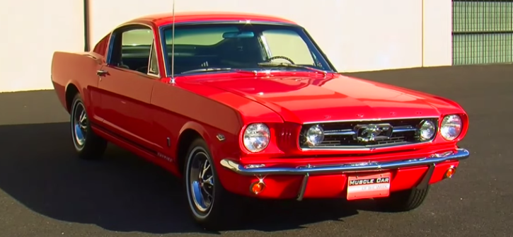 1966 ford mustang 289 k-code brothers collection