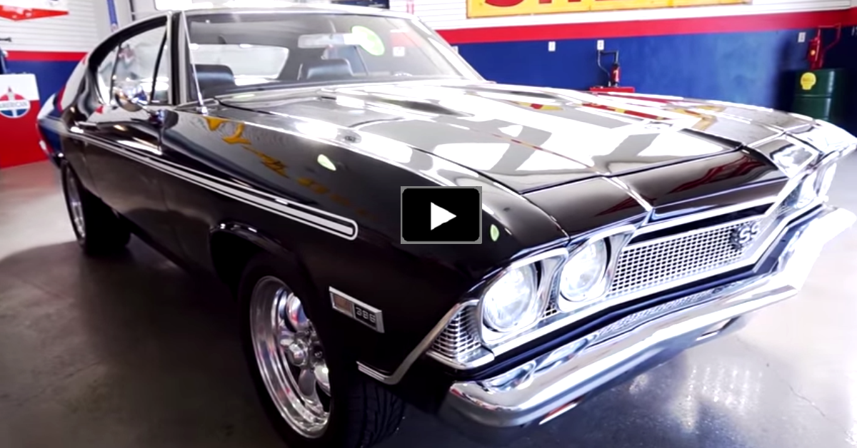 big block chevy chevelle muscle car