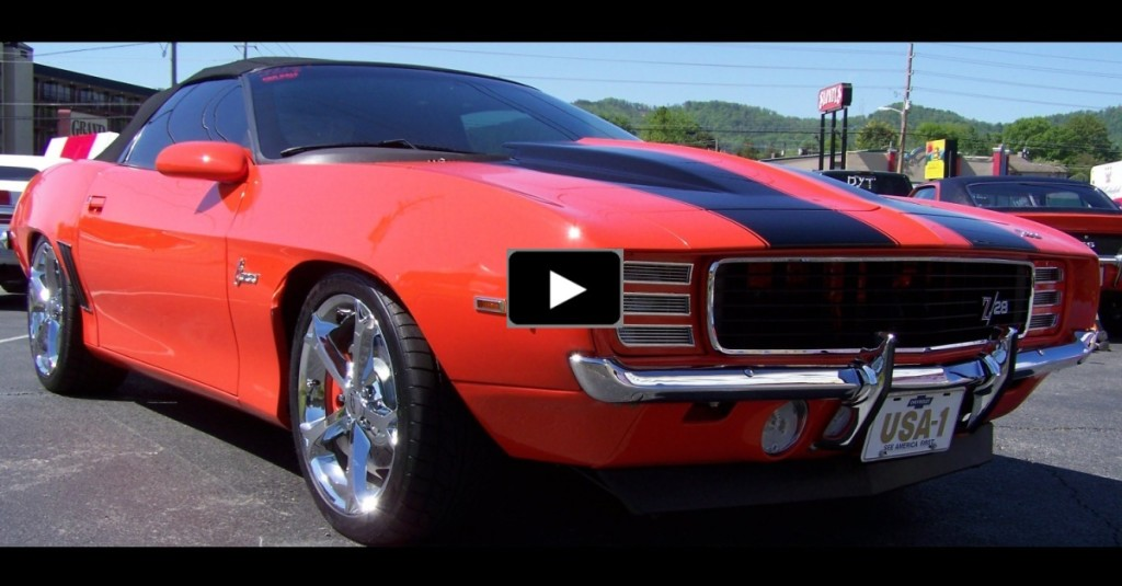 HYBRID 1969 CHEVY CAMARO BUILT ON A 2002 CHASSIS HOT CARS