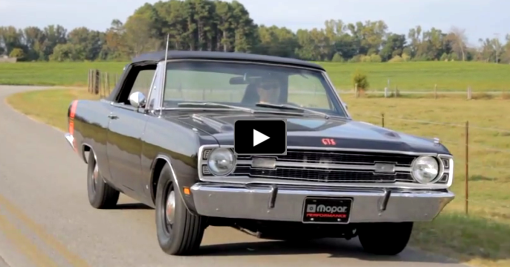 69' DODGE DART CONVERTIBLE | COOL OLD MUSCLE CARS | HOT CARS