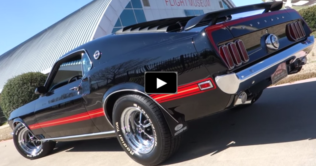 1969 Mustang Mach 1: *squeals and faints* Dear God, it's so pretty ...