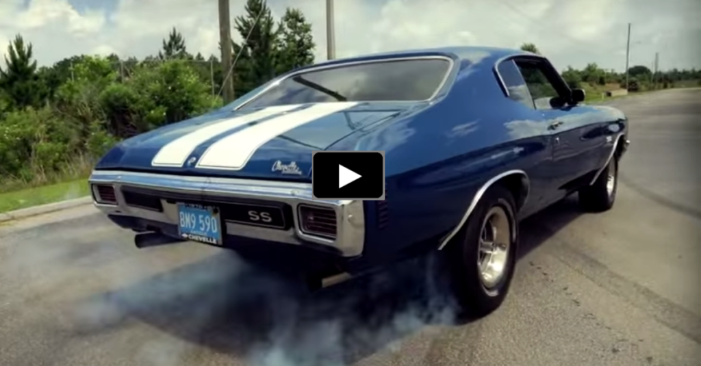 COOL CHEVY CHEVELLE SS BIG BLOCK BURNOUTS HOT CARS - Cool cars doing burnouts