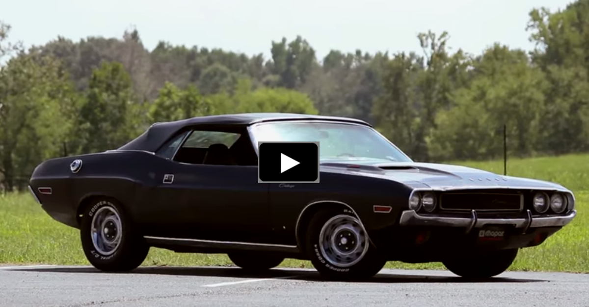 1970 Dodge Challenger In True Muscle Car Form on trucks with a 440 magnum engine