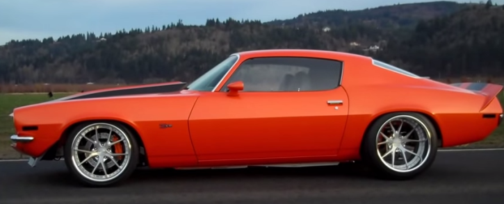 Killer 1971 Chevy Camaro Rs Ls3 Pro Touring Hot Cars
