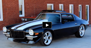 pro touring chevy camaro muscle car