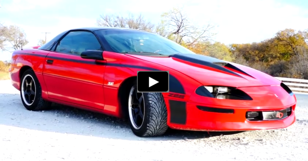 1994 Chevrolet Camaro Z28 Custom Awesome Video Hot Cars