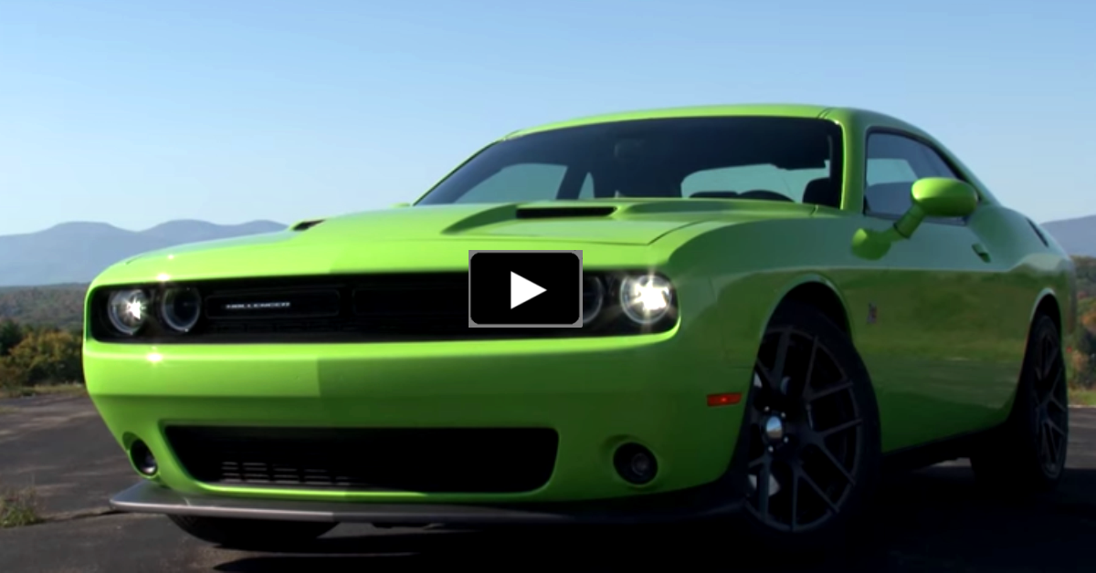 2015 dodge challenger rt scat pack review