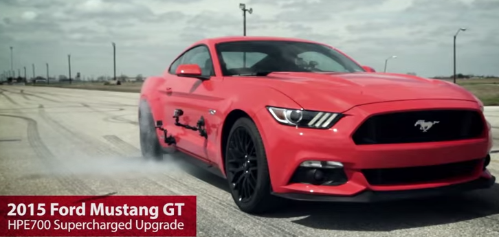 2015 hennessey mustang gt test drive