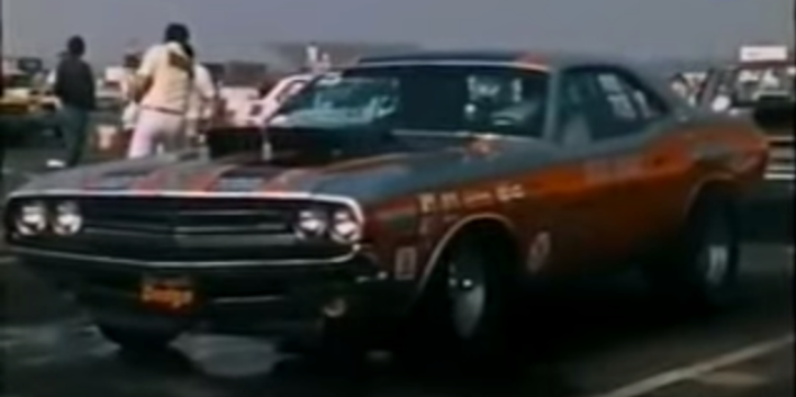 dick landy and the 1971 pro stock challenger