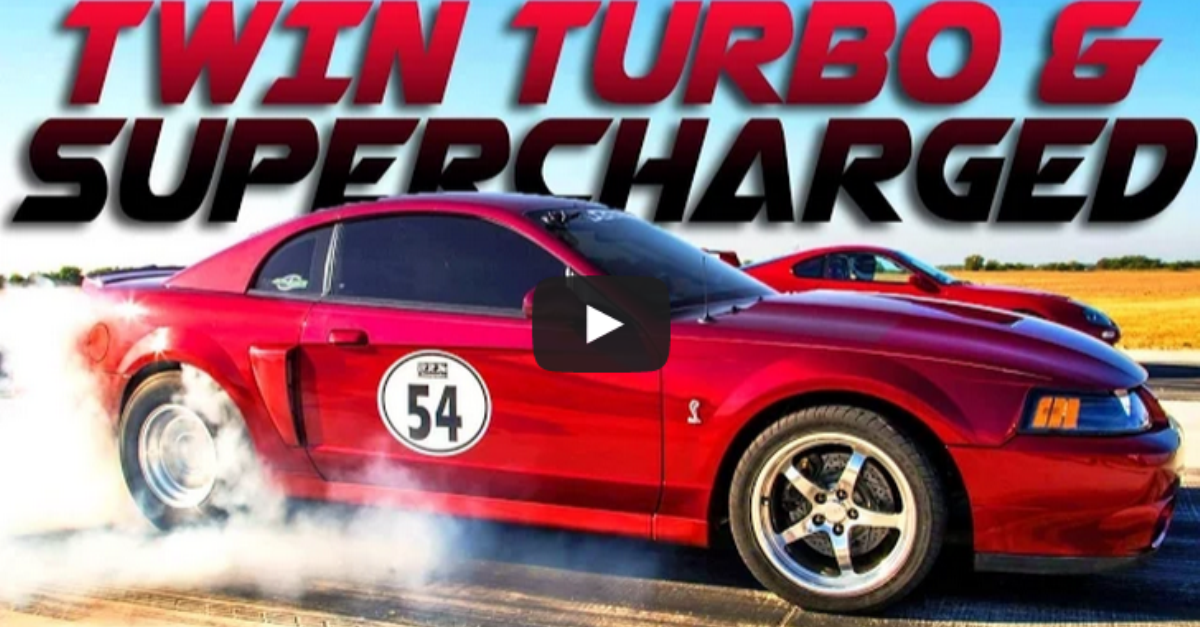INSANE 1200HP TWIN TURBO FORD MUSTANG COBRA