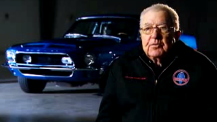 carroll shelby on king of the road mustangs - Copy