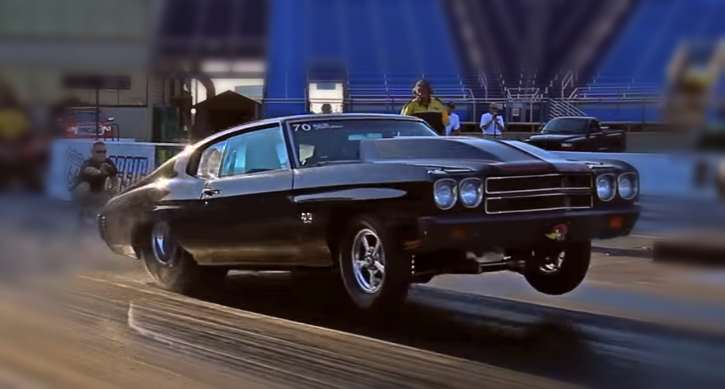 1970 chevrolet chevelle drag racing