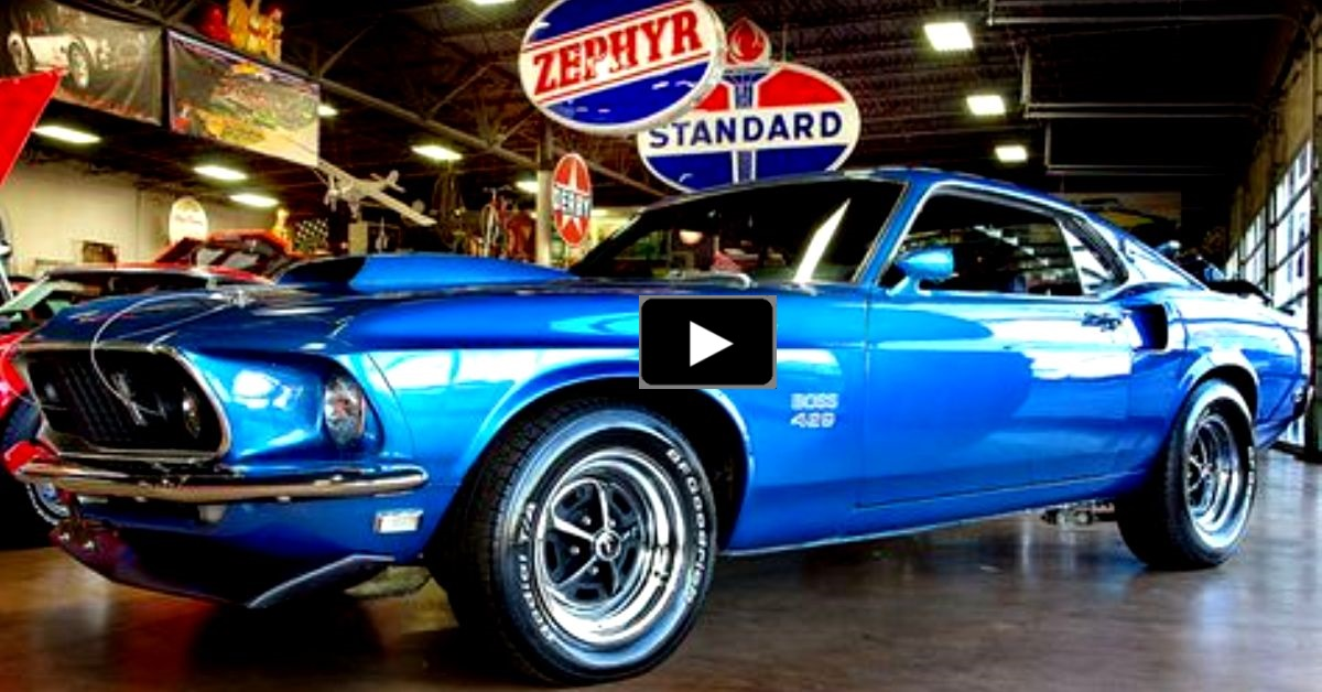 restored 1969 ford mustang 429