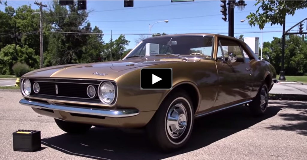 INCREDIBLE STORY OF THE VERY FIRST CHEVY CAMARO | HOT CARS