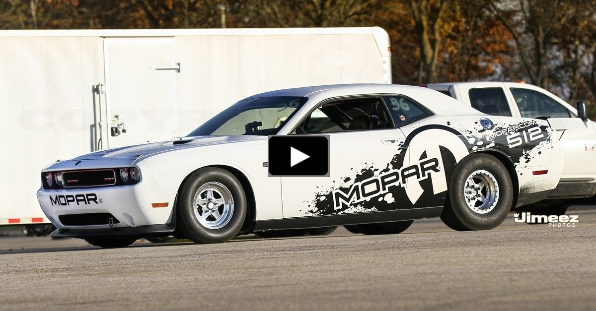 viprer powered dodge challenger drag pak 8 seconds