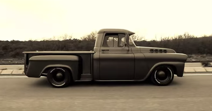 chevy apache custom pick up truck