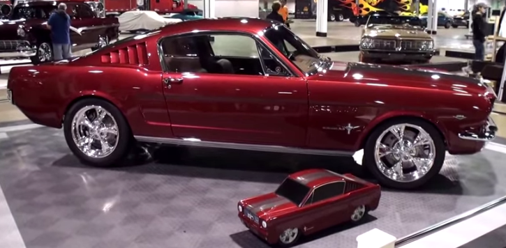 ford mustang fastback resto-mod