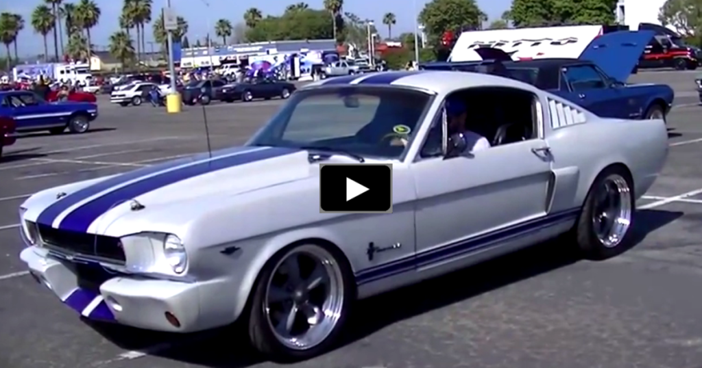Ford racing coyote 5 0 swap into mustang fastback hot cars