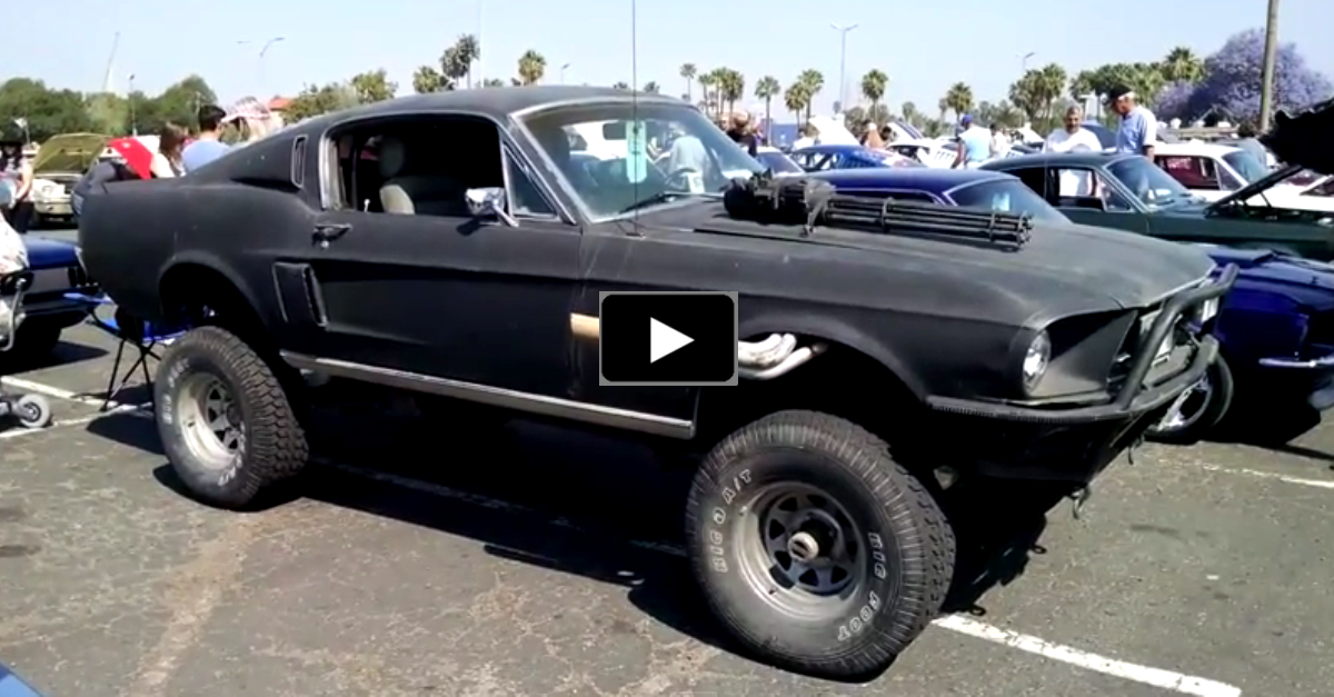 ford mustang 4x4 muscle car
