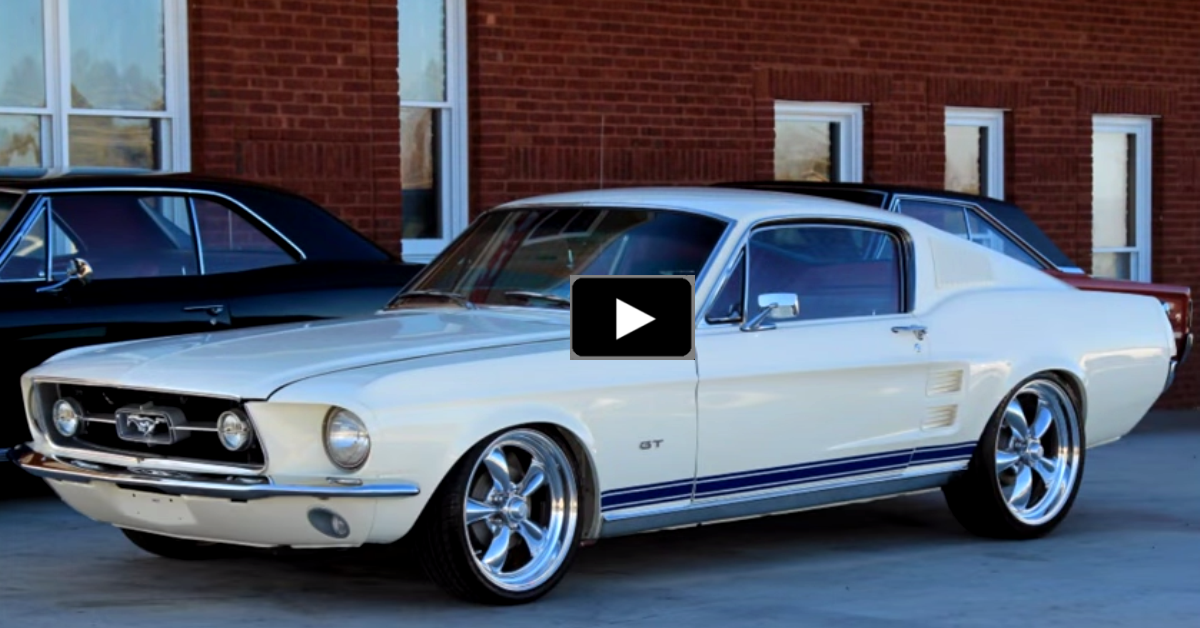 ford mustang resto-mod on hot cars