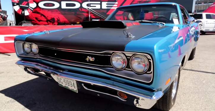 dodge super bee muscle car