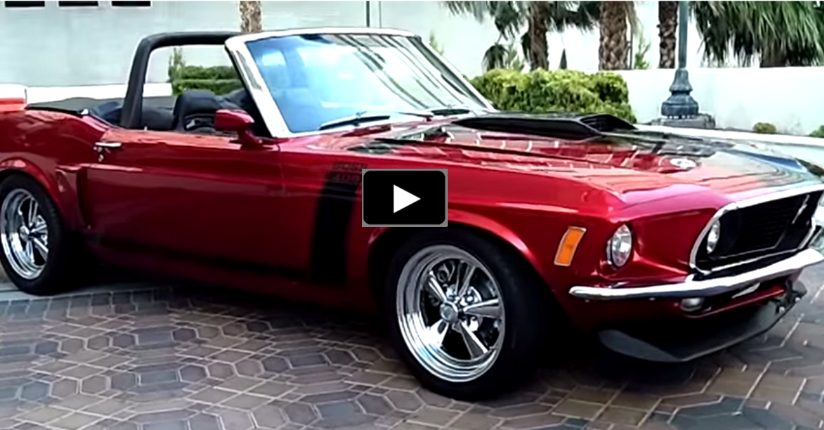 ford mustang convertible muscle car