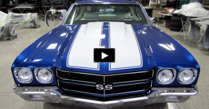 chevy chevelle custom muscle car